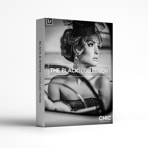 The Black & White Collection Chic Lightroom Presets